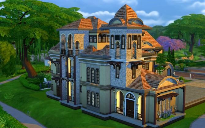 Austin Mansion at JarkaD Sims 4 Blog image 3338 Sims 4 Updates