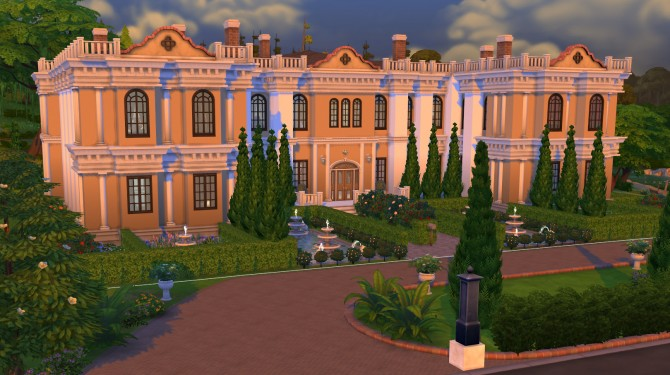 Chateau de Lorraine by trench at Mod The Sims image 3425 Sims 4 Updates
