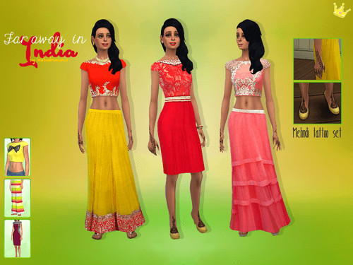 Far away in.. India inspired set at In a bad Romance image 351 1 Sims 4 Updates