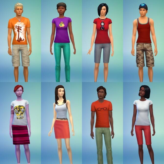 18 SKIN TONES X 30 OVERLAYS = 540 SKIN OPTIONS at Zerbu image 351 Sims 4 Updates