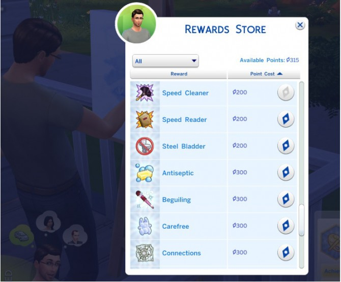 Cheap Aspiration Rewards by Shimrod101 at Mod The Sims image 3535 Sims 4 Updates