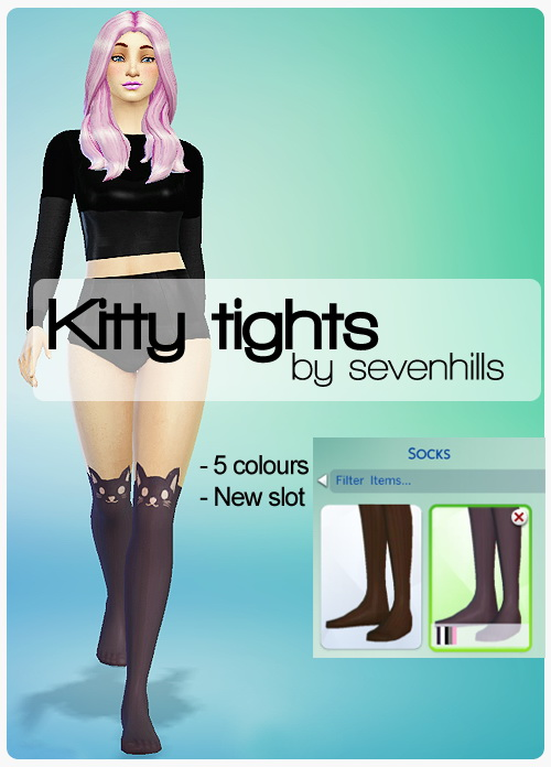Kitty tights at Sevenhills Sims image 3620 Sims 4 Updates