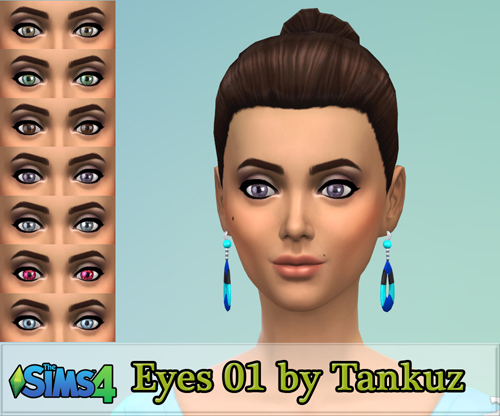 Eyes 01 by Tankuz at Sims 3 Game image 3717 Sims 4 Updates