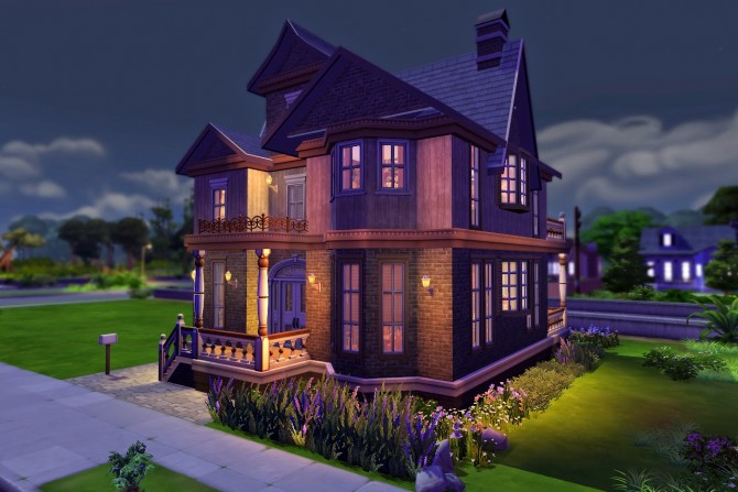 Sims 4 Old Secrets Mansion at Melissa Sims4