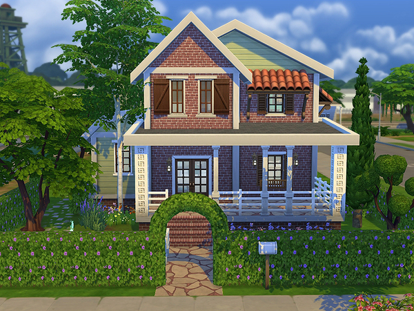 Cottage Onat Furnished By Ayyuff At The Sims Resource 187 Sims 4 Updates
