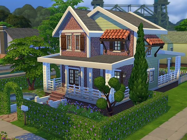 Sims 4 Cottage Onat Furnished by ayyuff at The Sims Resource