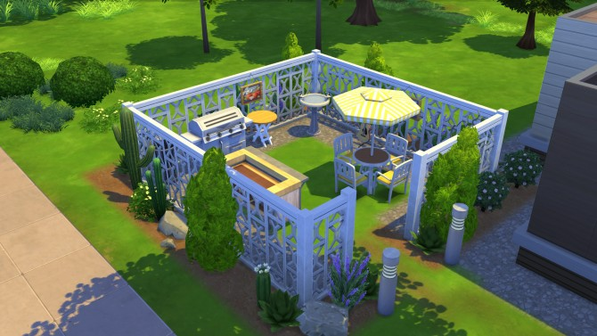 Sims 4 Perry small modern home by BaronessTrash at Mod The Sims