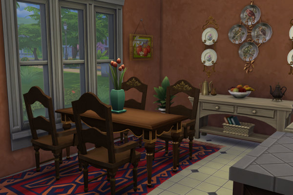 Sims 4 Old house by Satureja at Blacky's Sims Zoo