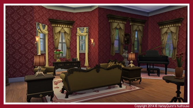The Rouge house at Harley Quinn's Nuthouse image 4128 Sims 4 Updates