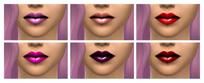Sims 4 Jelly lips from mouseyblue 2t4 at deggdegg