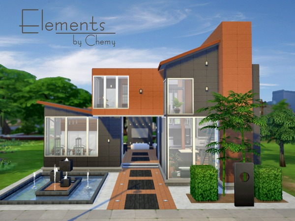 Elements House By Chemy At The Sims Resource Sims 4 Updates
