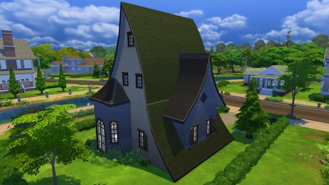 Sims 4 The Witch's House at Totally Sims