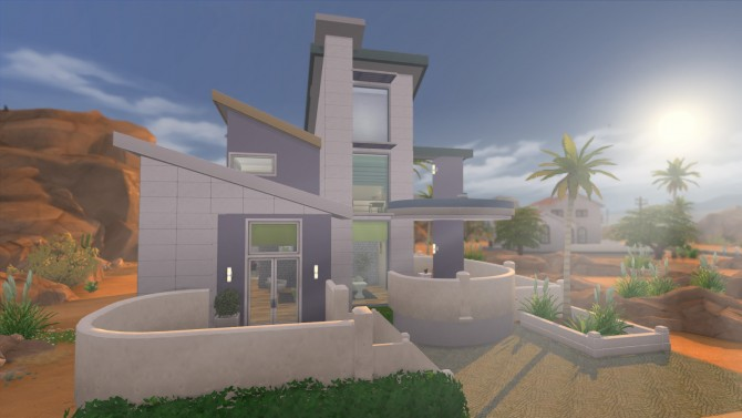 Oasis Modern House By Ruth Kay At Simply Ruthless Sims 4