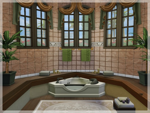 Sims 4 Apricot House by Arelien at TSR