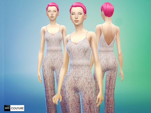 Sims 4 Set of Jumpsuit recolors by MissFortune at The Sims Resource