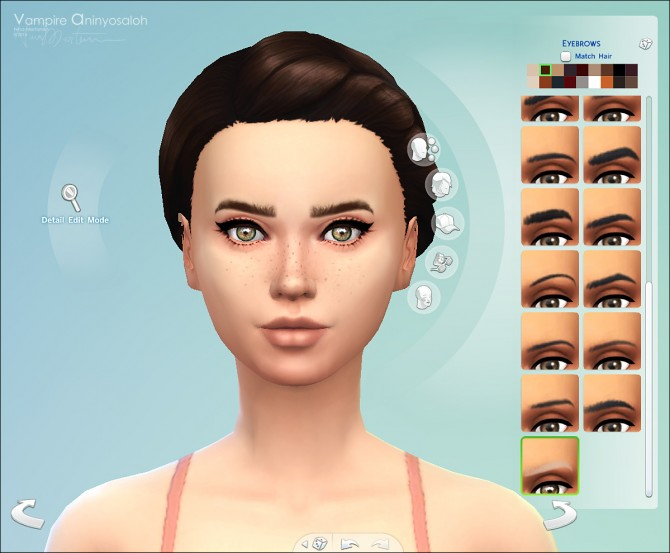 Charismatic Eyebrows by Vampire aninyosaloh at The Sims Resource image 4217 Sims 4 Updates
