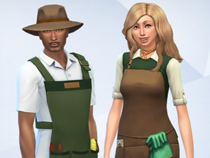 Gardener Outfit by Snaitf at Mod The Sims image 4245 Sims 4 Updates