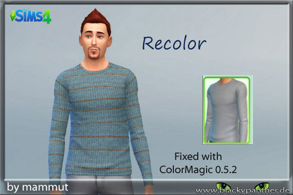 Sims 4 Knit Stripes 1 top by MaMMUT at Blacky's Sims Zoo