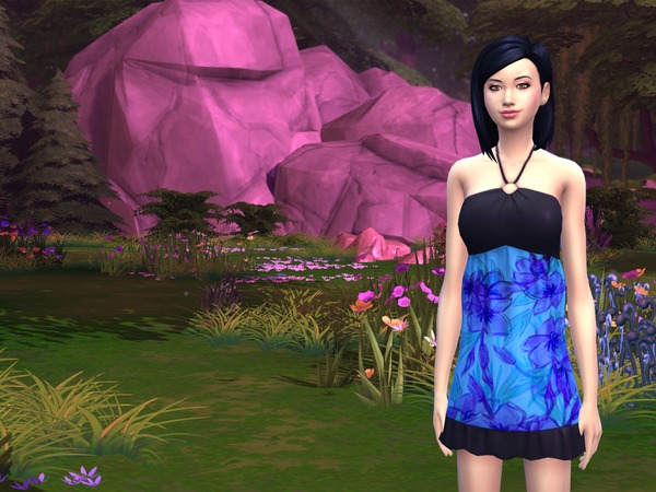 Sims 4 Leann Key sim model by Flovv at The Sims Resource