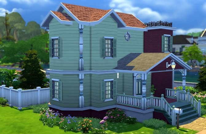 Sims 4 Vanilla House by Weslley Luzzi at Mod The Sims