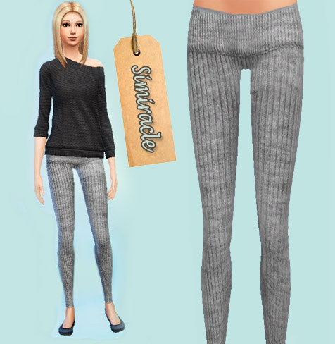 Wool Leggings at Simiracle image 4324 Sims 4 Updates