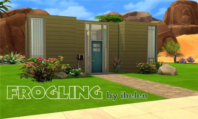 Frogling house by ihelen at ihelensims image 445 Sims 4 Updates