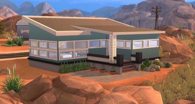 Sims 4 Ruza modern starter by farfalle at Mod The Sims