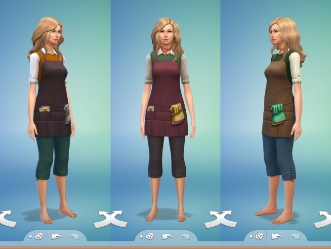 Gardener Outfit by Snaitf at Mod The Sims image 4540 Sims 4 Updates