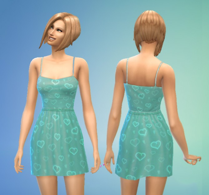 Simple Dress by Kiara24 at Mod The Sims image 469 Sims 4 Updates