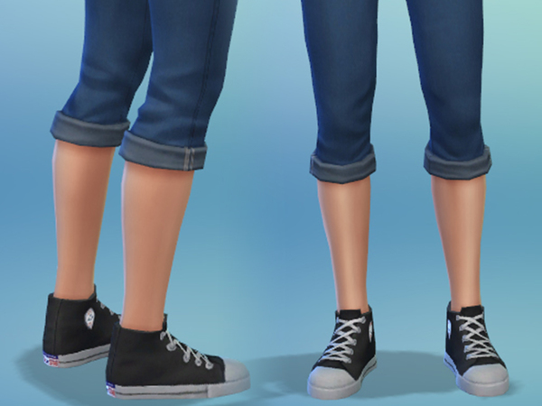 Converse High Tops by SimGoodie at The Sims Resource image 4713 Sims 4 Updates