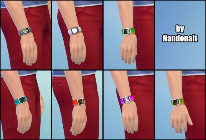 Some Smart Watches by Nandonalt at Mod The Sims image 4730 Sims 4 Updates