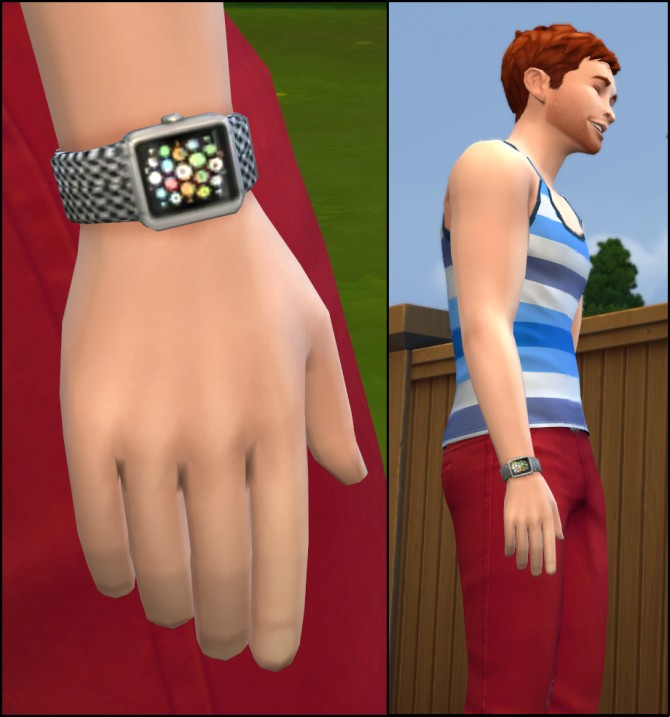 Some Smart Watches By Nandonalt At Mod The Sims 187 Sims 4