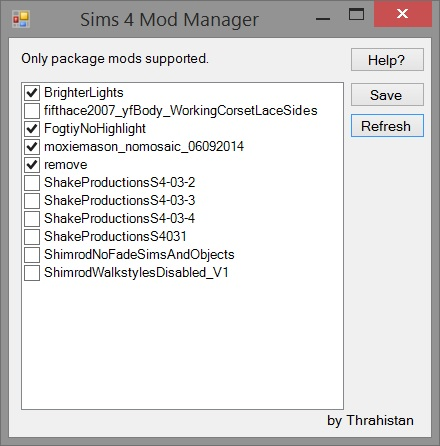mod manager sims 4