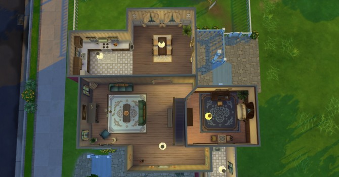 Sims 4 Ruthys Cottage at Simply Ruthless