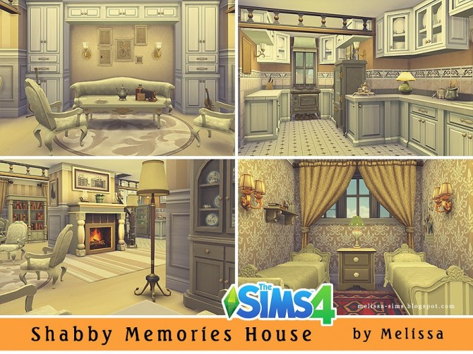 shabby memories house at melissa sims4 image 5032 sims 4 updates - Sims 4 Home Design