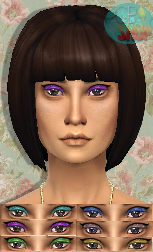 Sims 4 Shivering Eyeshadow at My Happy Ending