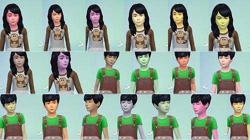 Skin overlays at Star's Sugary Pixels image 5118 Sims 4 Updates