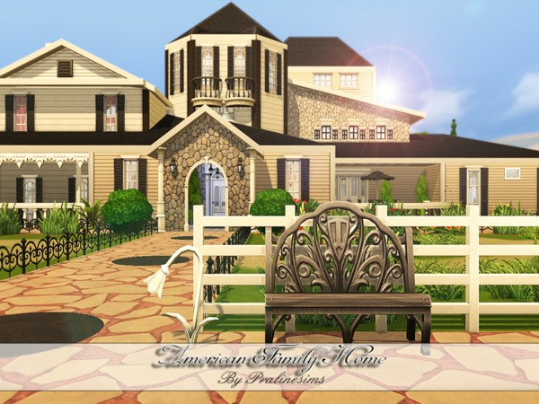 American Family Home by Pralinesims at TSR image 5140 Sims 4 Updates