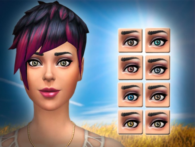 Clear eyes by malicieuse75 at Mod The Sims image 5169 Sims 4 Updates