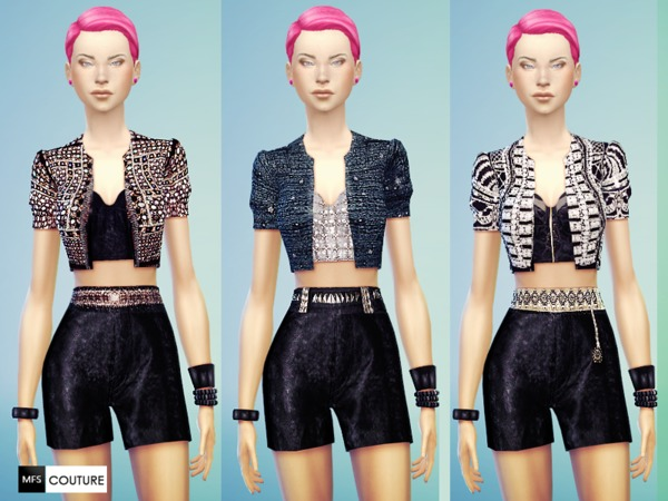 Fashion Mood Outfits by Miss Fortune at The Sims Resource image 519 Sims 4 Updates
