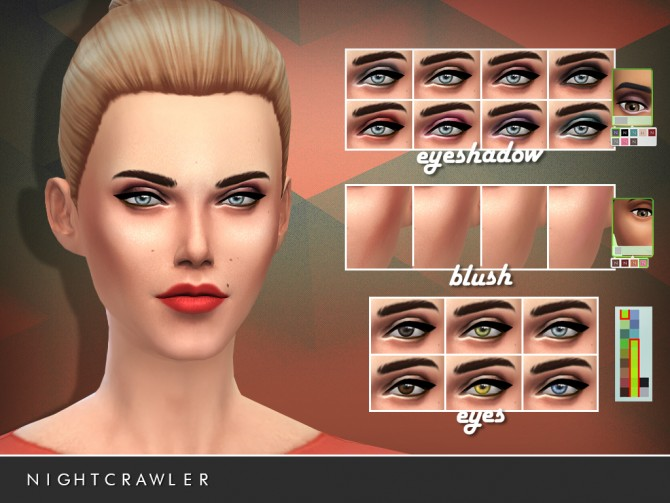 Sims 4 Nightcrawler Beauty starter Kit by Darko at The Sims Resource