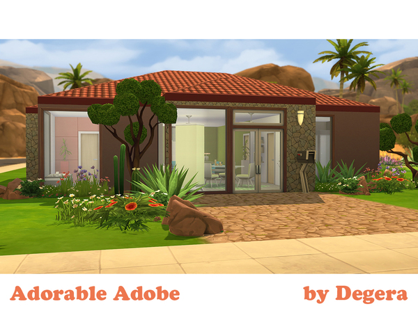 Adorable Adobe by Degera at The Sims Resource image 533 Sims 4 Updates