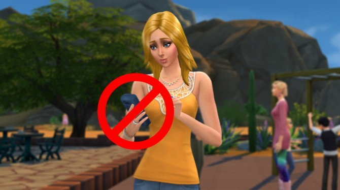 No More Autonomous Phone Actions by SimsProductions at Mod The Sims image 5342 Sims 4 Updates