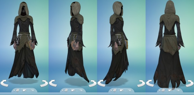 Grim Reaper Outfit by Snaitf at Mod The Sims image 538 Sims 4 Updates
