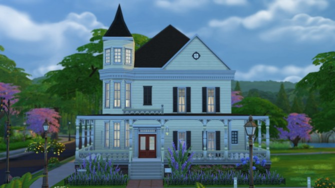 Sims 4 40 Garden Terrace house by Veronica Greeley at SIMple Realty