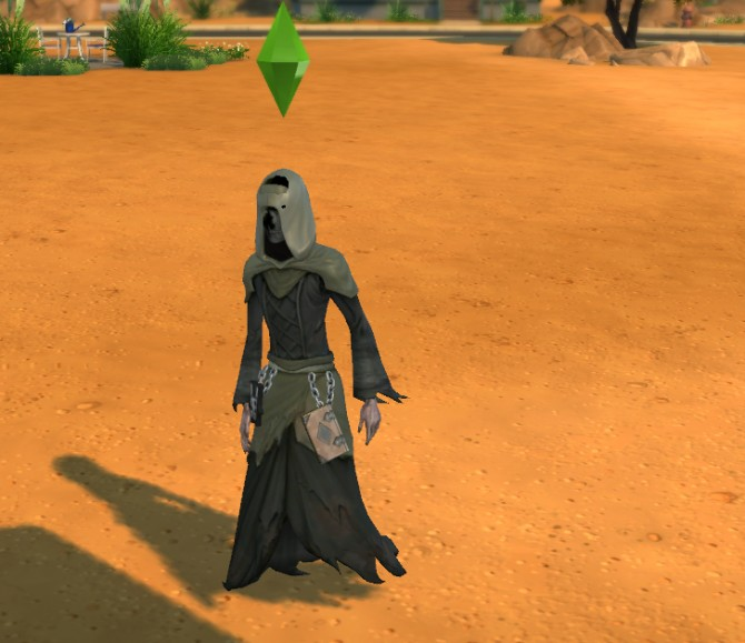 Grim Reaper Outfit by Snaitf at Mod The Sims image 548 Sims 4 Updates