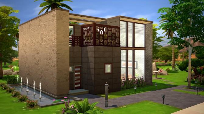Sims 4 NeXt house at Fezet's Corporation