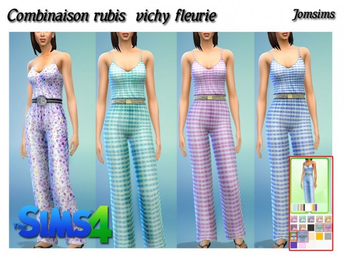 Sims 4 Rubis outfits at Jomsims Creations