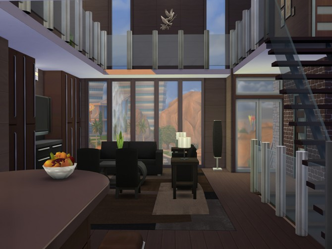 Maha Modern House By Mrdemeulemeester At Mod The Sims