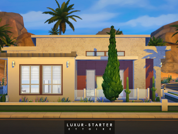 Sims 4 Luxury Starter by Ettoire at The Sims Resource